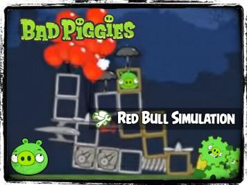 Bad Piggies 32 - Pigineering Red Bull Stratos Simulation