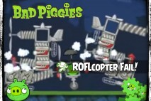 Bad Piggies – PIGineering: Colossal ROFLcopter FAIL