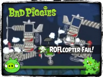 Bad Piggies 33 - Pigineering Colossal ROFLcopter FAIL