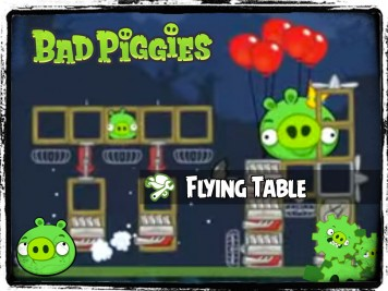 Bad Piggies 36 - Pigineering Flying Table
