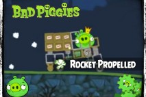 Bad Piggies – PIGineering: Rocket Propelled Grenade vs Truck