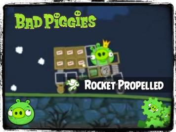 Bad Piggies 37 - Pigineering Rocket Propelled Grenade vs Truck