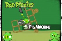 Bad Piggies – PIGineering: Rotating Pig Machine