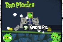 Bad Piggies – PIGineering: Along Came a Spider Pig