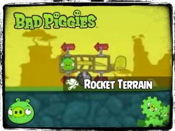 Bad Piggies 38 - Pigineering Terrain Following Rocket
