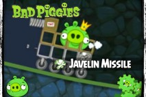 Bad Piggies – PIGineering: Javelin Missile vs Tank