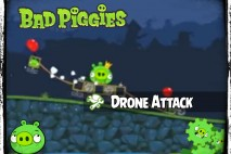 Bad Piggies – PIGineering: King Pig Survives Drone Attack
