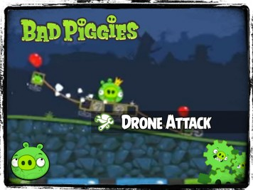Bad Piggies 40 - Pigineering King Pig Survives Drone Attack