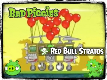 Bad Piggies 40 - Pigineering Red Bull Stratos Supersonic Pig Fall