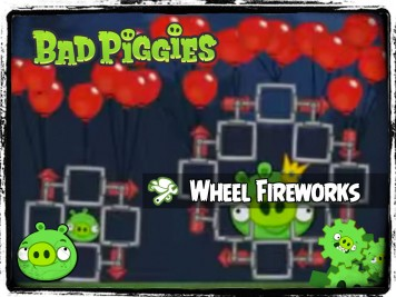 Bad Piggies 41 - Pigineering Catherine Wheel Fireworks