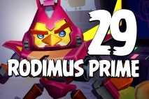 Let's Play Angry Birds Transformers   Part 29   Rodimus Prime