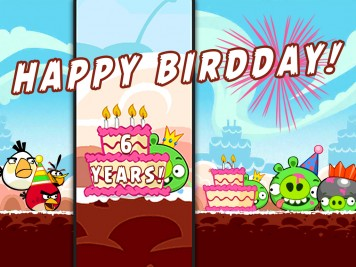 Angry Birds Celebrates 6th anniversary
