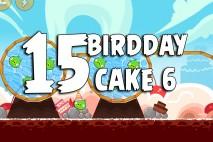 Angry Birds Birdday Party Cake 6 Level 15 Walkthrough
