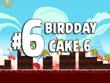 Angry Birds Classic Cake 6 Level 6 Labeled