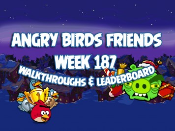 Angry Birds Friends Tournament Week 187 Feature Image