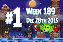 Angry Birds Friends 2015 Tournament Level 1 Week 189 Walkthrough
