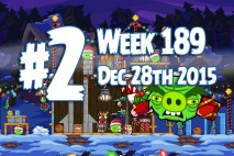 Angry Birds Friends 2015 Tournament Level 2 Week 189 Walkthrough