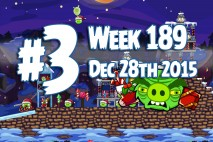 Angry Birds Friends 2015 Tournament Level 3 Week 189 Walkthrough