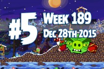 Angry Birds Friends 2015 Tournament Level 5 Week 189 Walkthrough