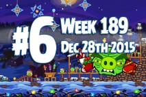 Angry Birds Friends 2015 Tournament Level 6 Week 189 Walkthrough