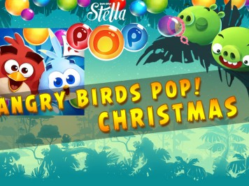Angry Birds Pop Christmas Update feature Image