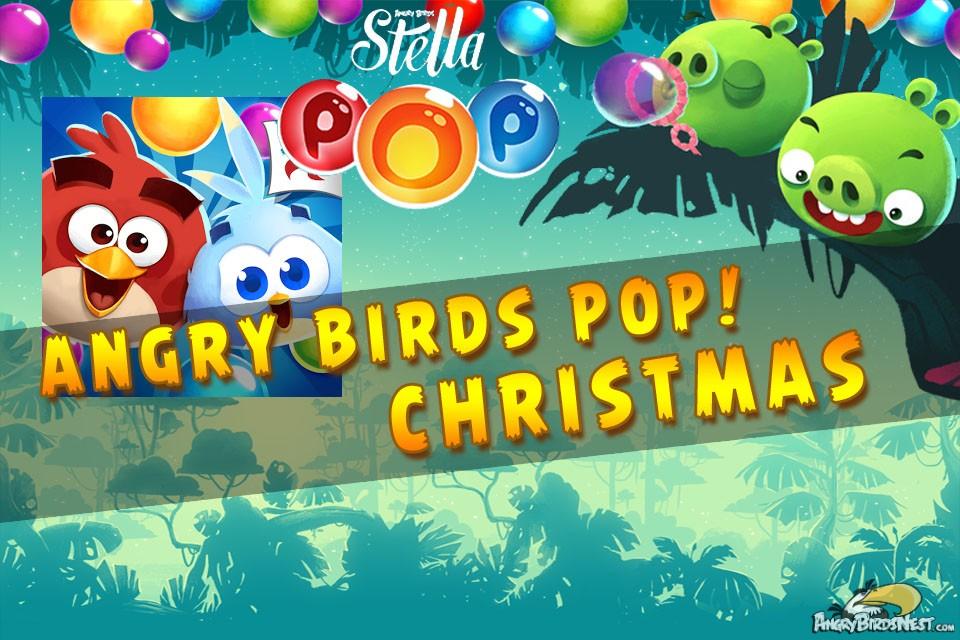 Angry Birds Stella Pop! Christmas!