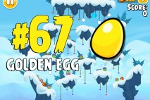 Angry Birds Seasons Ski or Squeal Golden Egg #67 Walkthrough