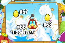 Angry Birds Seasons Ski or Squeal Golden Eggs Walkthroughs