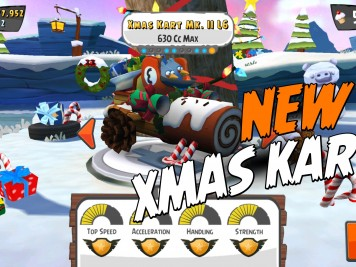 New Angry Birds GO! Xmas Kart Mk II