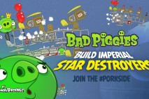 Bad Piggies – PIGineering: Empire Hires the Piggies to Build Next Generation Star Destroyers