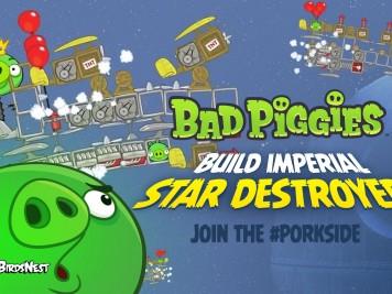 Pigineering Empire Hires Bad Piggies to Build Next Generation Star Destroyers
