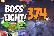 Angry Birds 2 Boss Fight Level 374  Walkthrough – Cobalt Plateaus Mount Evernest