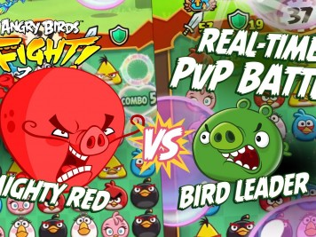Angry Birds Fight! Real Time PvP Battle Feature Image
