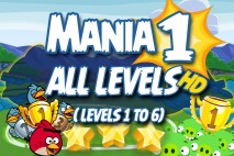 Angry Birds Friends 2016 Tournament Mania 1 Week 192 Non Power-Up Compilation Walkthrough