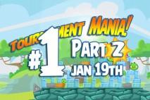 Angry Birds Friends 2016 Tournament Mania 2 Level 1 Week 192 Walkthrough