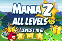 Angry Birds Friends 2016 Tournament Mania 2 Week 192 Non Power-Up Compilation Walkthrough