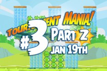 Angry Birds Friends 2016 Tournament Mania 2 Level 3 Week 192 Walkthrough