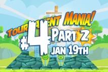 Angry Birds Friends 2016 Tournament Mania 2 Level 4 Week 192 Walkthrough