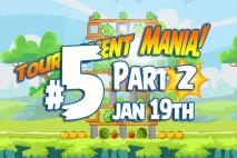 Angry Birds Friends 2016 Tournament Mania 2 Level 5 Week 192 Walkthrough