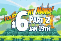 Angry Birds Friends 2016 Tournament Mania 2 Level 6 Week 192 Walkthrough
