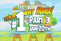 Angry Birds Friends 2016 Tournament Mania 3 Level 1 Week 192 Walkthrough