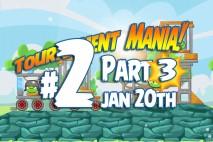 Angry Birds Friends 2016 Tournament Mania 3 Level 2 Week 192 Walkthrough