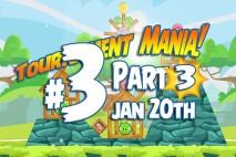 Angry Birds Friends 2016 Tournament Mania 3 Level 3 Week 192 Walkthrough