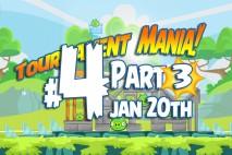 Angry Birds Friends 2016 Tournament Mania 3 Level 4 Week 192 Walkthrough