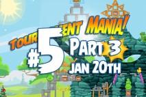 Angry Birds Friends 2016 Tournament Mania 3 Level 5 Week 192 Walkthrough