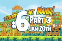 Angry Birds Friends 2016 Tournament Mania 3 Level 6 Week 192 Walkthrough