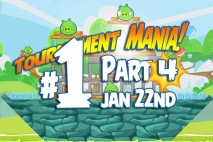 Angry Birds Friends 2016 Tournament Mania 4 Level 1 Week 192 Walkthrough