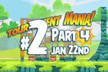 Angry Birds Friends 2016 Tournament Mania 4 Level 2 Week 192 Walkthrough