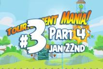 Angry Birds Friends 2016 Tournament Mania 4 Level 3 Week 192 Walkthrough