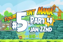 Angry Birds Friends 2016 Tournament Mania 4 Level 5 Week 192 Walkthrough